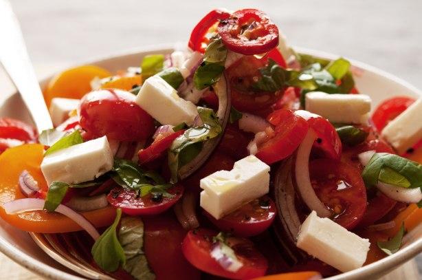 natürlich essen | Tomatensalat mit Feta | Lars Brouwers & Torsten Fleischer