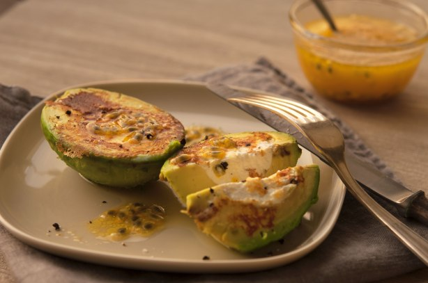 natürlich essen | gebratene Avocado | Lars Brouwers & Torsten Fleischer