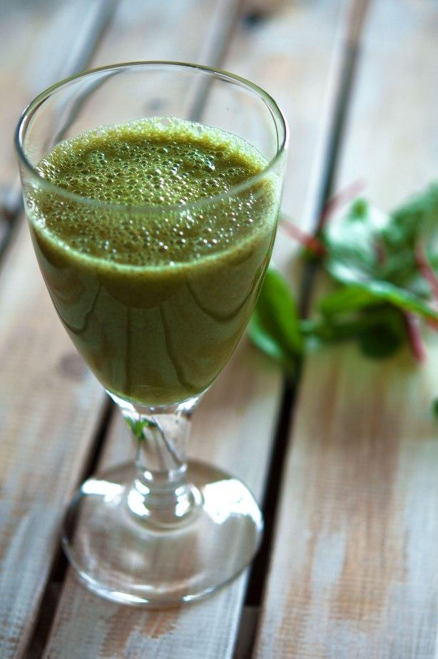 natürlich essen | grüner Bananen Smoothie | Lars Brouwers & Torsten Fleischer