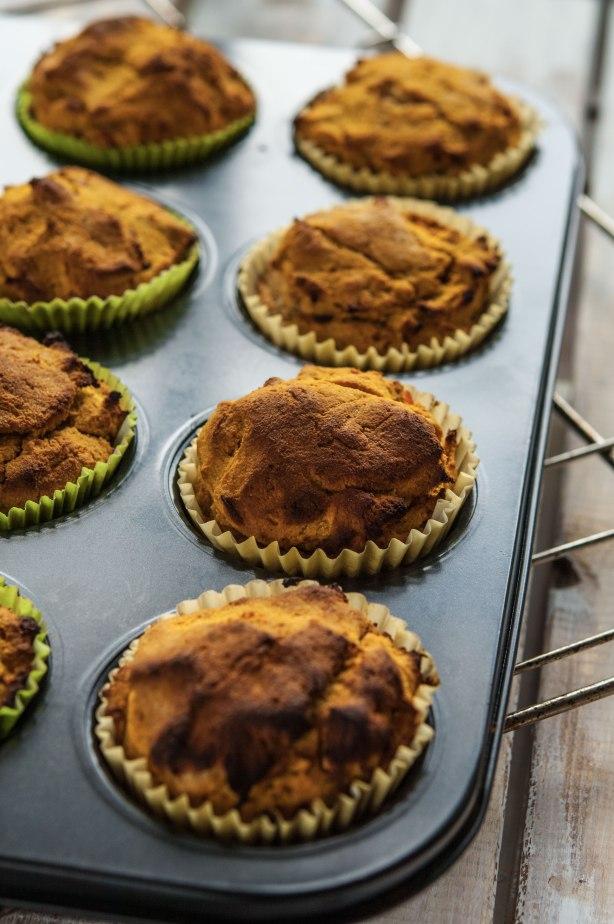 natürlich essen | Paleo Kürbis Muffin