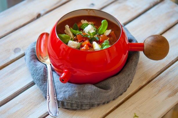 natürlich essen | Tomatensuppe mit Feta | Lars Brouwers & Torsten Fleischer