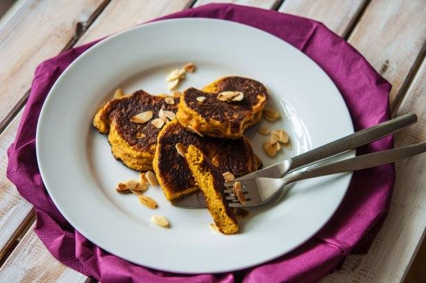 natürlich essen | Paleo Kürbis Pancakes | Lars Brouwers & Torsten Fleischer