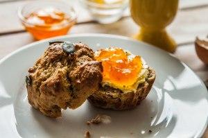 natürlich essen | Paleobrötchen mit Orangenmarmelade| Lars Brouwers & Torsten Fleischer