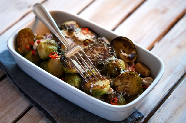 natürlich essen | Rosenkohlauflauf | Lars Brouwers & Torsten Fleischer