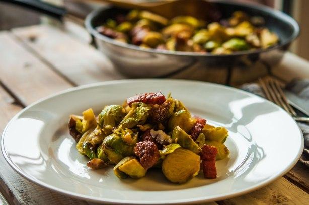 natürlich essen | Rosenkohl mit Maronen und Speck | Lars Brouwers & Torsten Fleischer