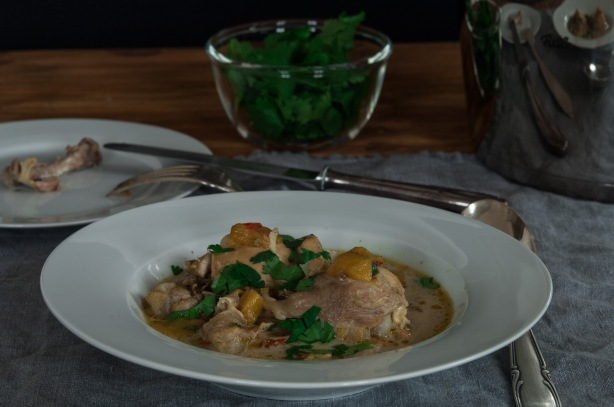 natürlich essen | Mango-Curry-Hühnchen mit Koriander | Lars Brouwers & Torsten Fleischer
