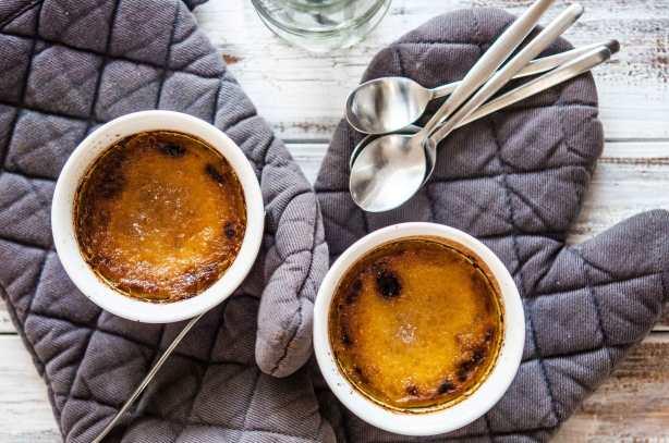 natürlich essen | Crème Brulée mit Ingwer und Kurkuma | Lars Brouwers & Torsten Fleischer