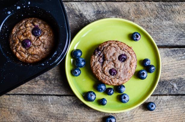 natürlich essen | Bananen Blaubeeren Muffin | Lars Brouwers & Torsten Fleischer