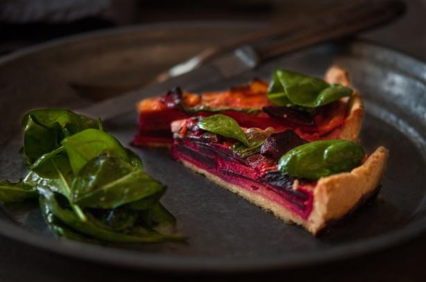 natürlich essen | Rote Bete Tarte | Lars Brouwers & Torsten Fleischer