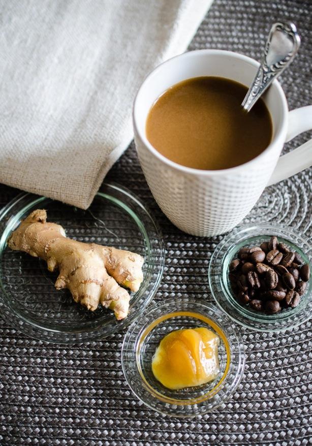 natürlich essen | Paleo Ingwer Kaffee | Lars Brouwers & Torsten Fleischer